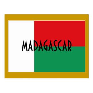 Het briefkaart van Madagascar