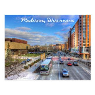 Het Briefkaart van Madison Wisconsin