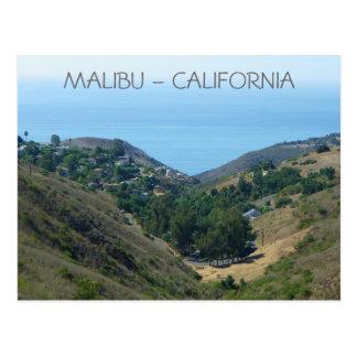 Het Briefkaart van Malibu!
