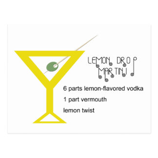 Het Briefkaart van Martini van de Daling van de