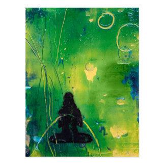 Het Briefkaart van Namaste Briefkaart