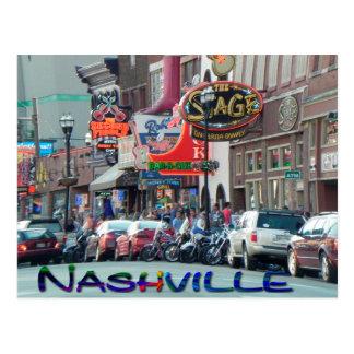 Het briefkaart van Nashville