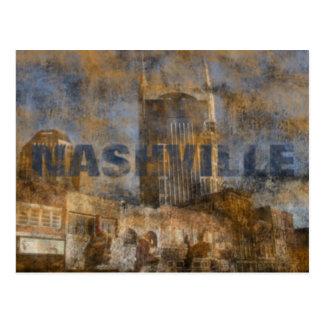 Het Briefkaart van Nashville Grunge