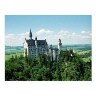 Het Briefkaart van Neuschwanstein van Schloss