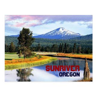 Het Briefkaart van Oregon van Sunriver