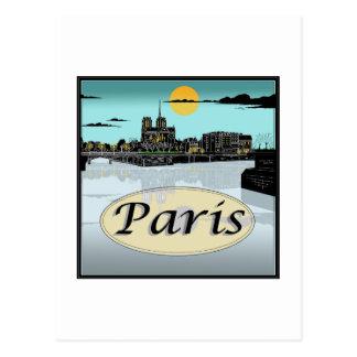 Het Briefkaart van Parijs