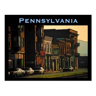 Het Briefkaart van Pennsylvania