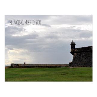 Het Briefkaart van Puerto Rico van de Minnaars van