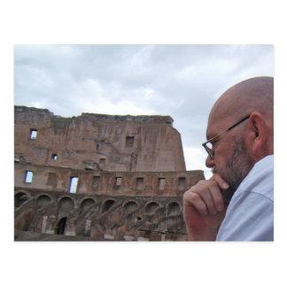 Het Briefkaart van Rome, Italië