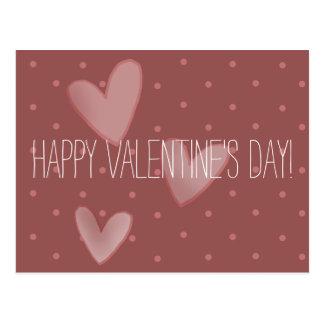 Het Briefkaart van schattig Valentijn met