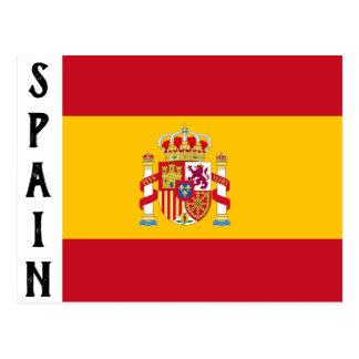 Het briefkaart van Spanje