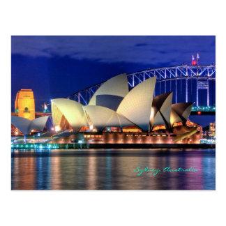 Het briefkaart van Sydney, Australië