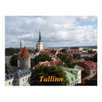 Het briefkaart van Tallinn