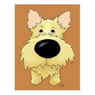 Het Briefkaart van Terrier van de steenhoop