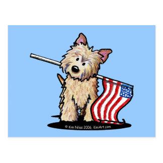 Het Briefkaart van Terrier van de Steenhoop van de