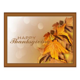 Het Briefkaart van thanksgiving day