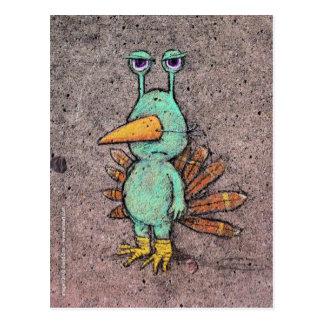 het briefkaart van Thanksgivingslurkey