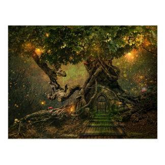 Het Briefkaart van Treescapes