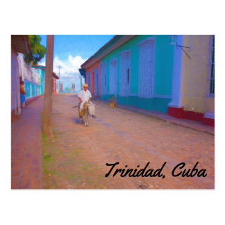Het briefkaart van Trinidad Cuba