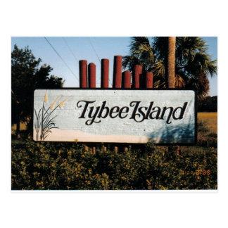 Het Briefkaart van Tybee