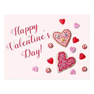 Het Briefkaart van Valentijn van het Bericht van