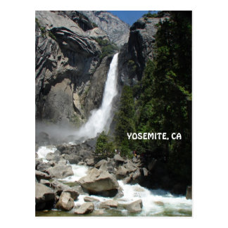 Het Briefkaart van Yosemite!