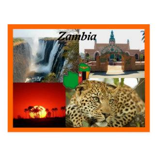 Het Briefkaart van Zambia