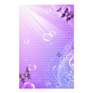 Het Briefpapier van vlinders en van Bellen