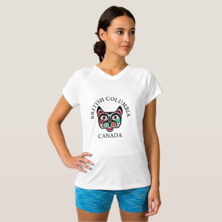 Het Britse Kat van Colombia Haida T Shirt
