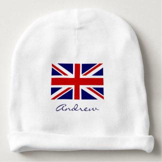 Het Britse pet van het de vlagbaby van Union Jack Baby Mutsje