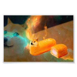 Het brood van de doge - doge-shibe-doge hond-leuke foto afdrukken