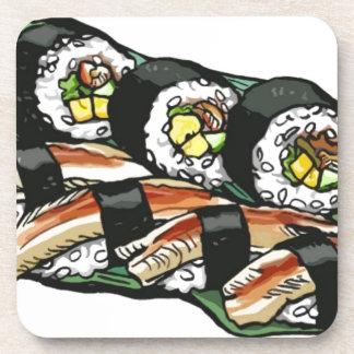 Het Broodje van sushi Bier Onderzetter