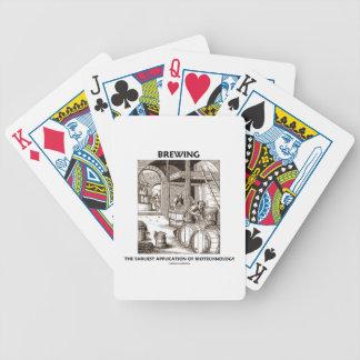 Het brouwen van de Vroegste Toepassing van Poker Kaarten