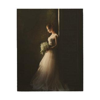 Het Bruids Portret van de douane Hout Afdruk