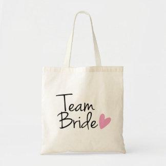 "Het Bruidsmeisje van het team ""van de Bruid"" Budget Draagtas"