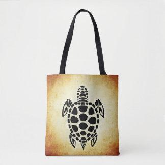 Het Bruine Bolsa Baf van de Schildpad van het zee Draagtas