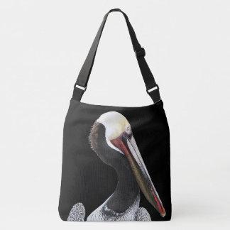 Het bruine Dierlijke Canvas tas van het Wild van