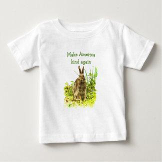 Het bruine Konijn van het Konijntje maakt opnieuw Baby T Shirts