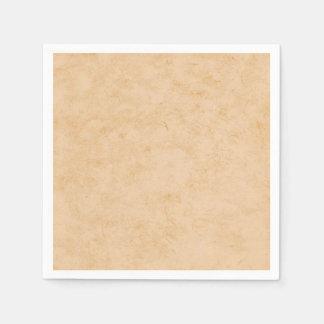 Het Bruine Marmer van de pastelkleur Papieren Servetten