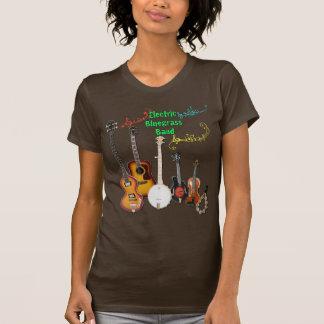 Het bruine overhemd van de Band Bluegrass T Shirt