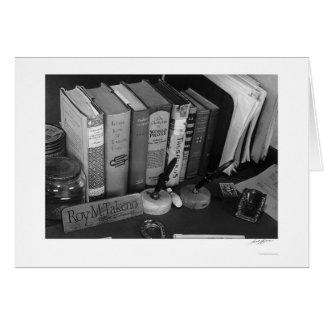 Het Bureau 1943 van Roy Takeno's Briefkaarten 0