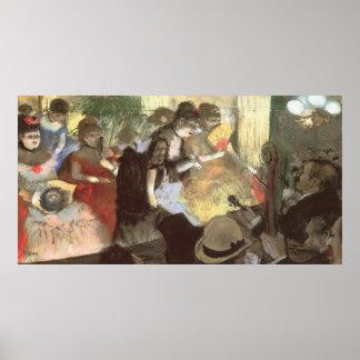 Het Cabaret van Edgar Degas Poster