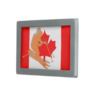 Het Canadese Ski?en van de Ski van Canada van de Gespen