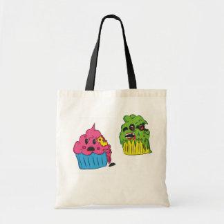 Het Canvas tas van Cupcake van de zombie