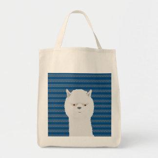 Het Canvas tas van de alpaca