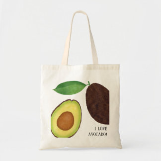 Het Canvas tas van de AVOCADO
