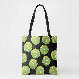 Het Canvas tas van de Bal van het tennis, Middel