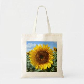 Het Canvas tas van de Begroting van de zonnebloem
