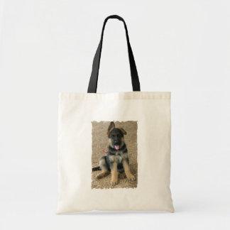 Het Canvas tas van de Begroting van het Puppy van