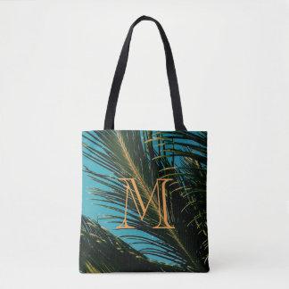 Het Canvas tas van de Bladeren M van de palm